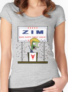 Zim - Make Earth Great Again! Women's Fitted Scoop T-Shirt