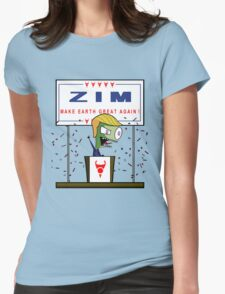 Zim - Make Earth Great Again! Womens Fitted T-Shirt