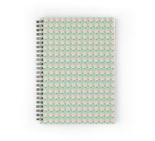 Animal Crossing Pattern - Peach Spiral Notebook