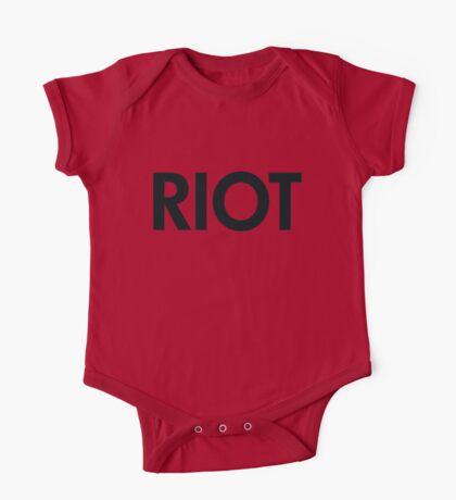 Riot (black) One Piece - Short Sleeve