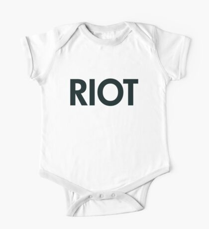 Riot (black) One Piece - Short Sleeve