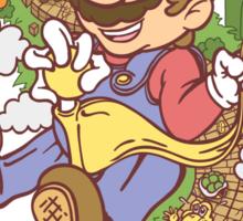 Mario Eff's Up World 1-1 Sticker