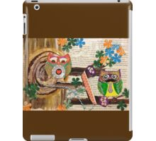 Mustache you who is calling? iPad Case/Skin