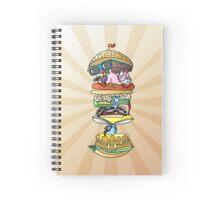 Sandwich of Stuff Spiral Notebook