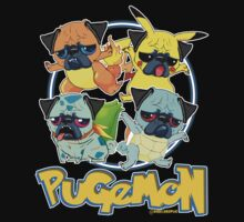Pugemon Kids Tee