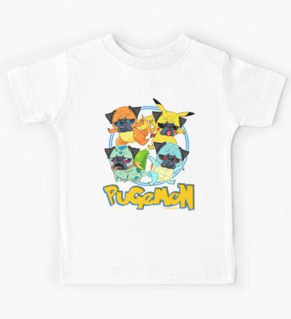 Pugemon Kids Tee