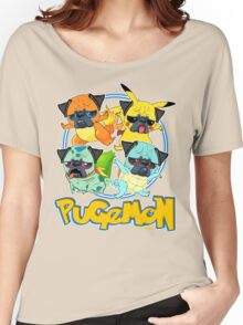Pugemon Women's Relaxed Fit T-Shirt