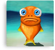 Fishface Canvas Print