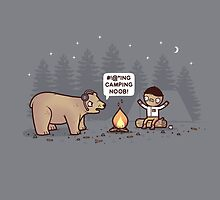Camping  by Randyotter