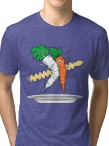 Makanko-salad!!! Tri-blend T-Shirt