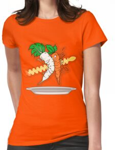Makanko-salad!!! Womens Fitted T-Shirt
