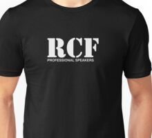 RCF white Unisex T-Shirt