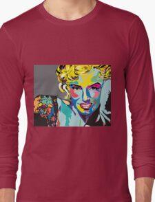 Marilyn Monroe - l'icône Long Sleeve T-Shirt