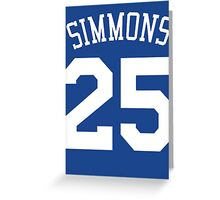 Ben Simmons Greeting Card