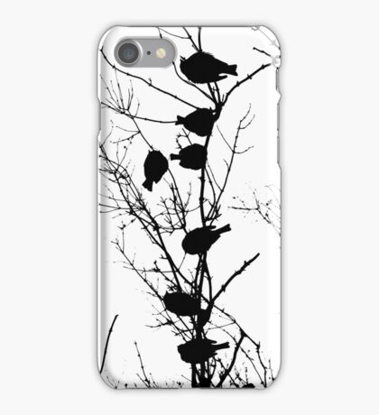 Sparrow Line Up iPhone Case/Skin