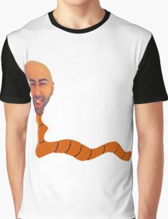 Fouseytube The Worm Graphic T-Shirt