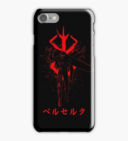 BERSERK - GUTS iPhone Case/Skin
