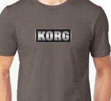 Korg silver black Unisex T-Shirt