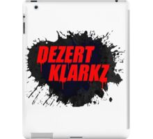Dezert Klarkz iPad Case/Skin