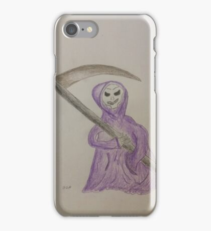 The Reaper Formerly Known As Grim iPhone Case/Skin