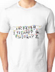 STRANGER THINGS - CHRISTMAS LIGHTS Unisex T-Shirt