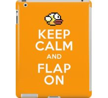 Keep Calm and Flap On iPad Case/Skin