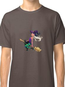 Cute Halloween Witch  Classic T-Shirt