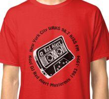 DJ Red Alert 98.7 Kiss FM Mix Tape [blk] Classic T-Shirt