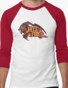 Guardian Force Ifrit: Hell Fire Men's Baseball ¾ T-Shirt