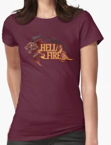 Guardian Force Ifrit: Hell Fire Womens Fitted T-Shirt