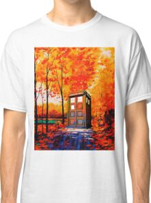 tardis in the woods Classic T-Shirt