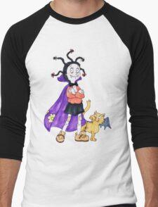 Mona the Vampire Men's Baseball ¾ T-Shirt