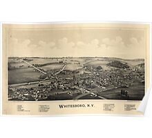 BIrd's Eye View of Whitesboro, New York (1891) Poster