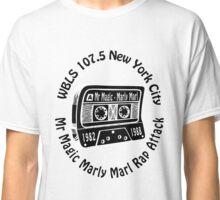 Marly Marl Rap Attack Old School Hip Hop  Classic T-Shirt