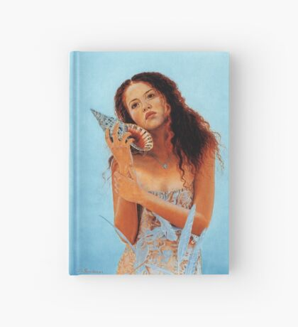 Girl and the shell Hardcover Journal