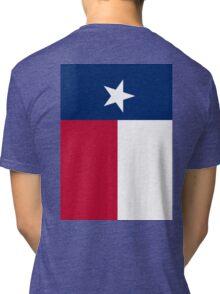 TEXAS, Lone Star, Texas Flag, FULL COVER, Flag of the State of Texas, USA, America, American Tri-blend T-Shirt