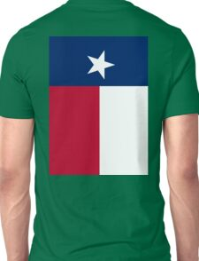TEXAS, Lone Star, Texas Flag, FULL COVER, Flag of the State of Texas, USA, America, American Unisex T-Shirt