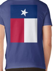 TEXAS, Lone Star, Texas Flag, FULL COVER, Flag of the State of Texas, USA, America, American Mens V-Neck T-Shirt