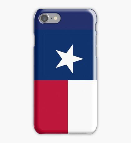 TEXAS, Lone Star, Texas Flag, FULL COVER, Flag of the State of Texas, USA, America, American iPhone Case/Skin