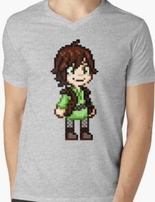 Bodily Function the Dragon Trainer Mens V-Neck T-Shirt