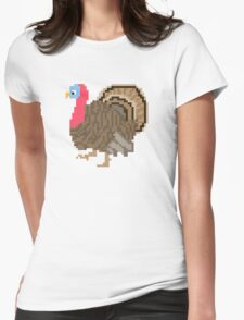 Turkey - The Kids' Picture Show - 8-Bit Womens Fitted T-Shirt