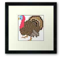 Turkey - The Kids' Picture Show - 8-Bit Framed Print