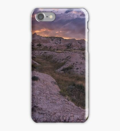 Buttes Sunset #3 iPhone Case/Skin