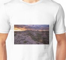 Buttes Sunset #3 Unisex T-Shirt