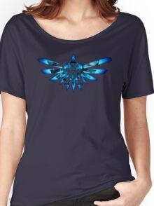 Blue Triforce The legend of zelda Women's Relaxed Fit T-Shirt