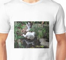Boo at the pond Unisex T-Shirt