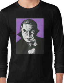Dracula Classic Gothic Horror Long Sleeve T-Shirt