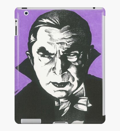 Dracula Classic Gothic Horror iPad Case/Skin