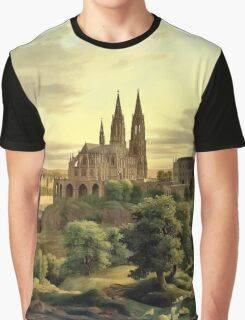 Medieval Town (Artwork) Graphic T-Shirt