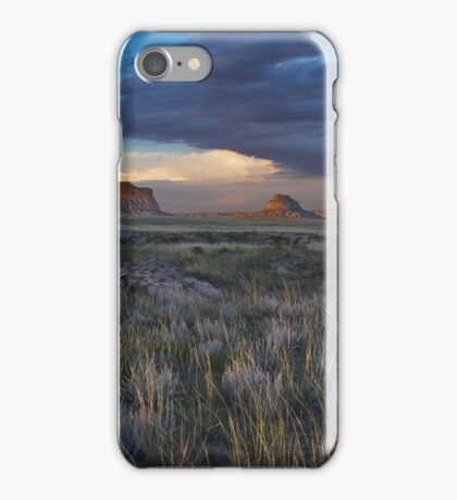 Buttes Sunset #5 iPhone Case/Skin